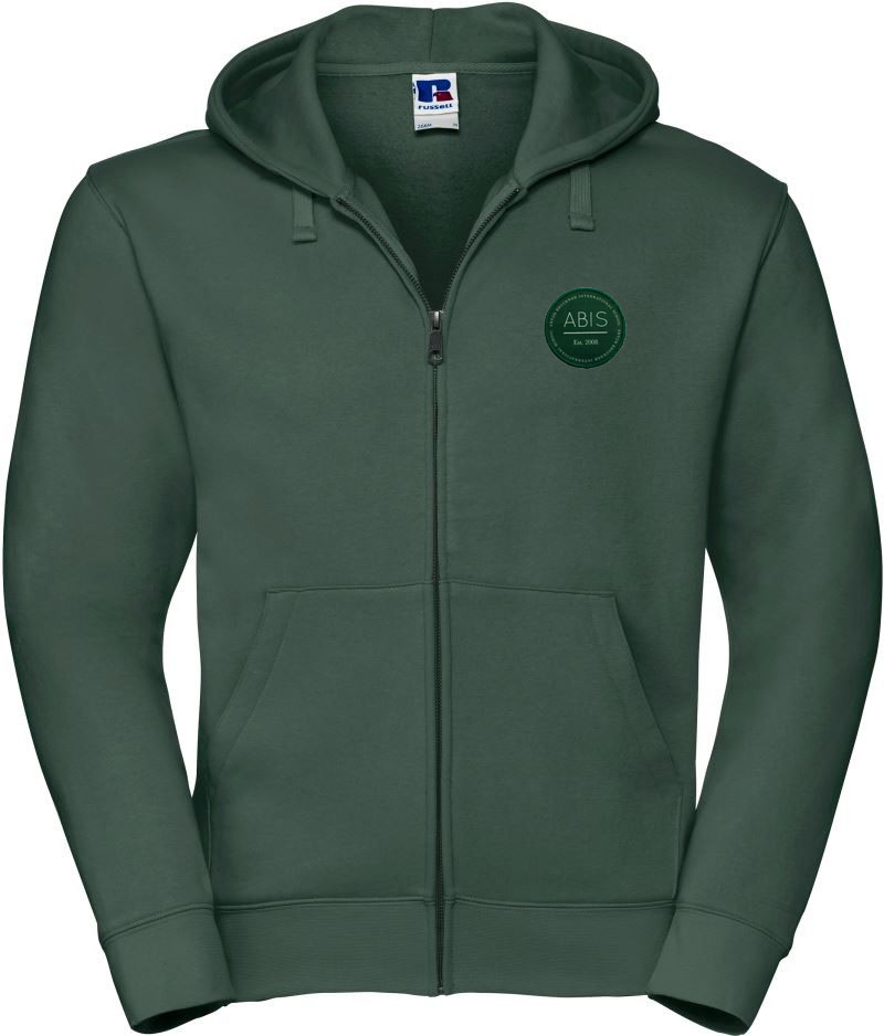 ABIS Authentic Zipped Hood Jacke - green