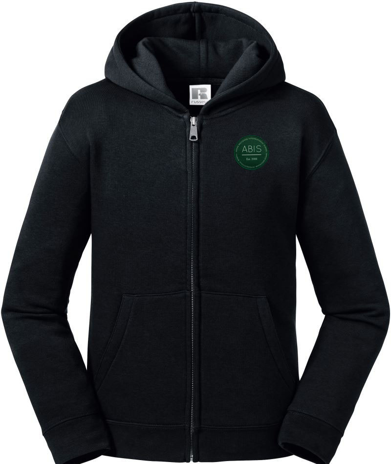ABIS Authentic Zipped Hood Jacke - black