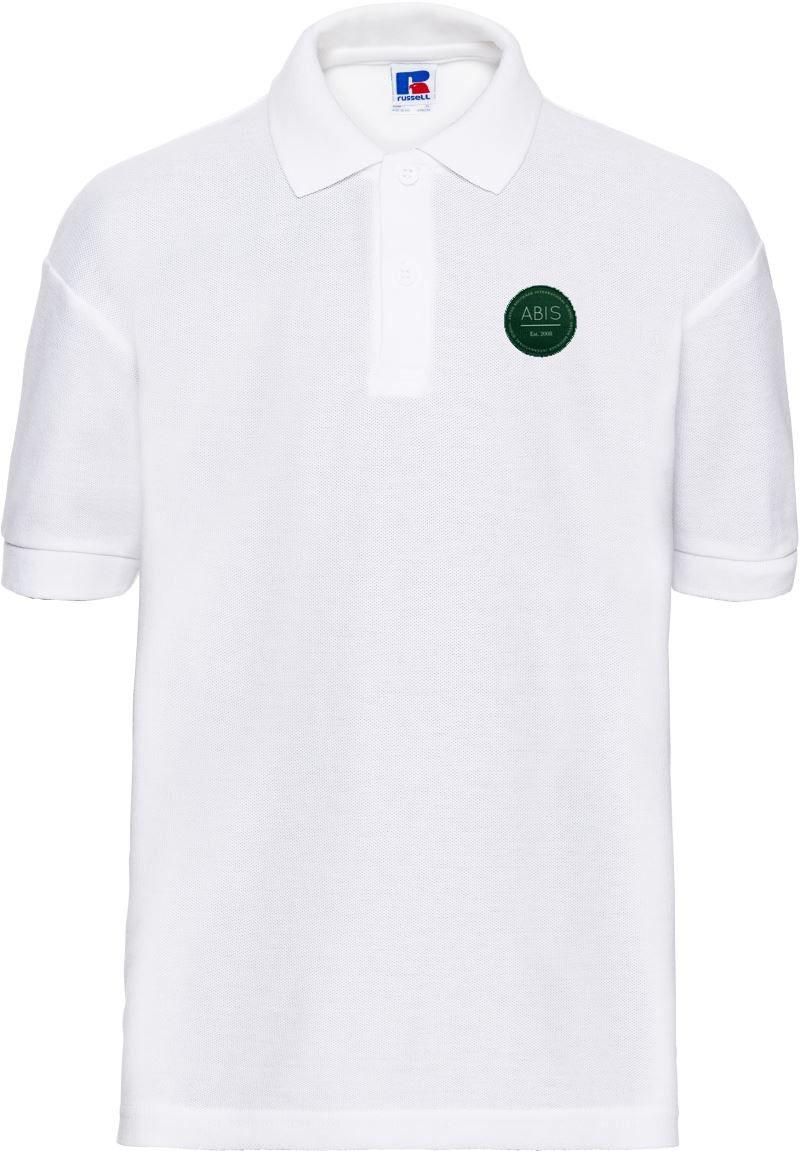 ABIS Piqué Polo - white
