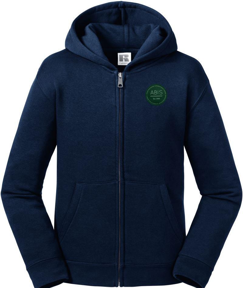 ABIS Authentic Zipped Hood Jacke - navy